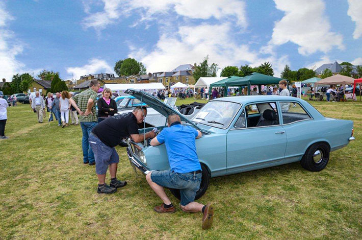 Classics on the Green, Hampton July 2015