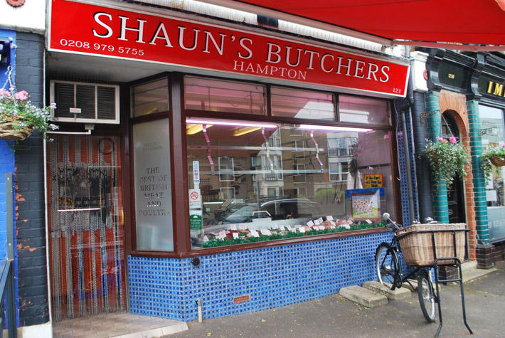 Shaun's Butchers, Hampton